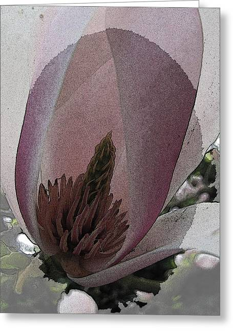Petal Prose Greeting Card