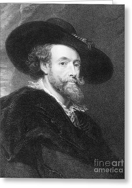 Peter Paul Rubens Greeting Card by Granger