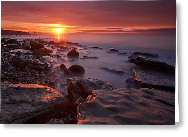 Pett Square Greeting Card by Mark Leader