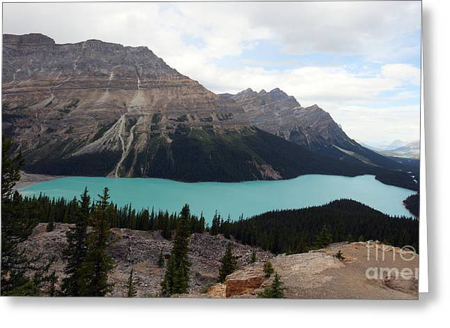 Peyto Greeting Card