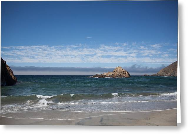 Pfeiffer Beach Greeting Card by Ralf Kaiser