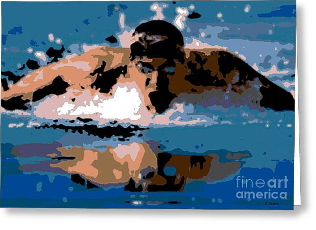 Phelps 1 Greeting Card by George Pedro