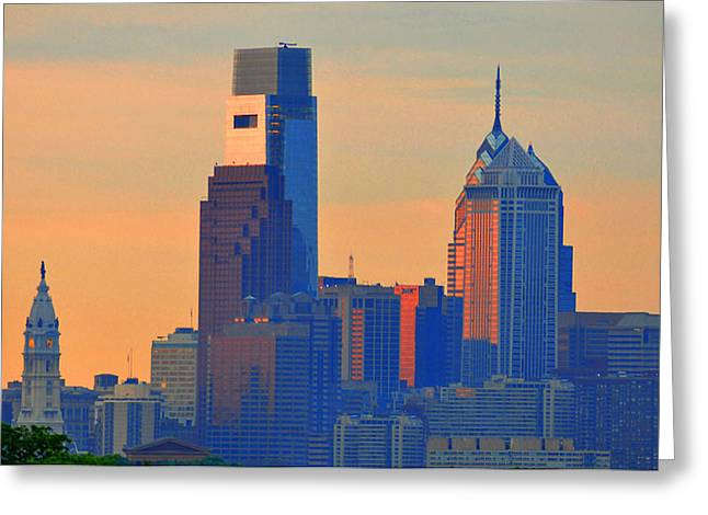 Philadelphia Sunrise Greeting Card