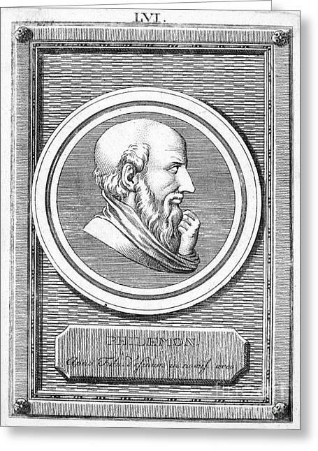 Philemon (c368-c264 B.c.) Greeting Card by Granger