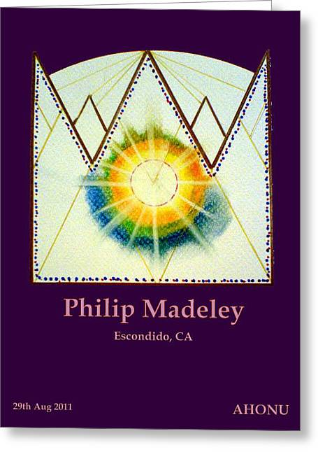 Philip Madeley Greeting Card