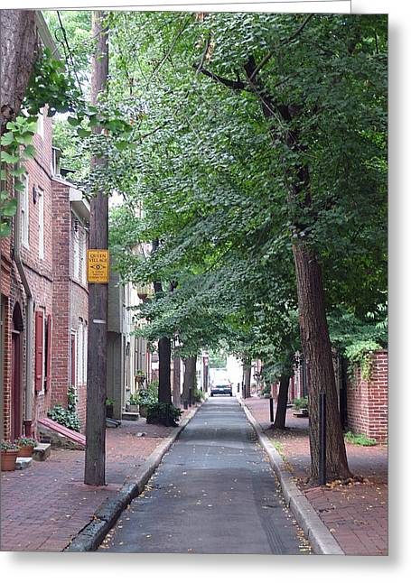 Philly Street Greeting Card by Fredrik Ryden