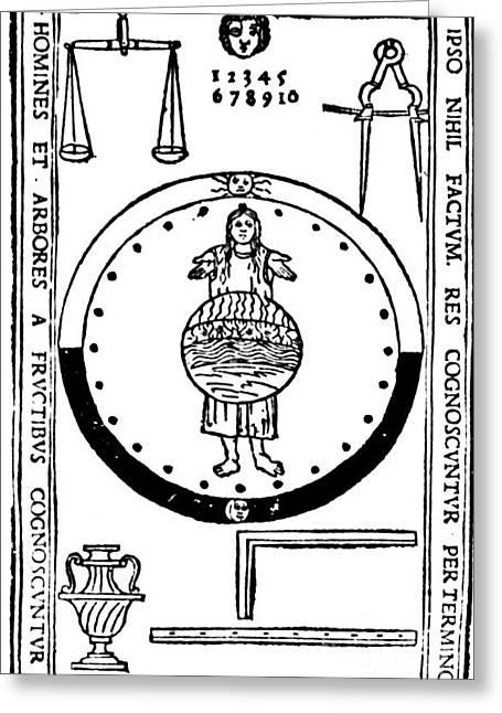 Philosophia Pauperum, Sive Philosophia Greeting Card