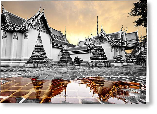 Pho Temple Greeting Card