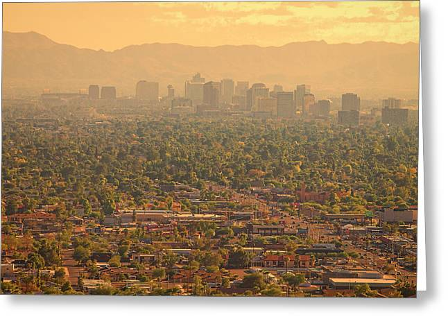 Phoenix Valley Of The Sun Greeting Card