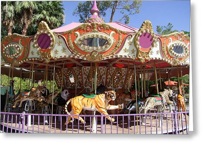 Phoenix Zoo Carousel Photograph By Mary Deal