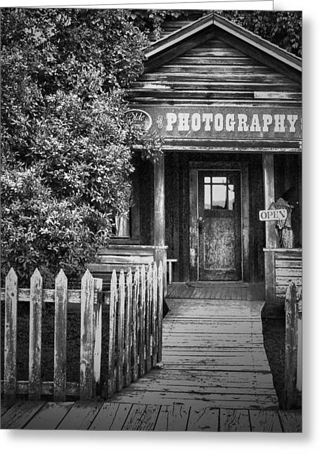 Photo Shop  Greeting Card by Jerry Cordeiro