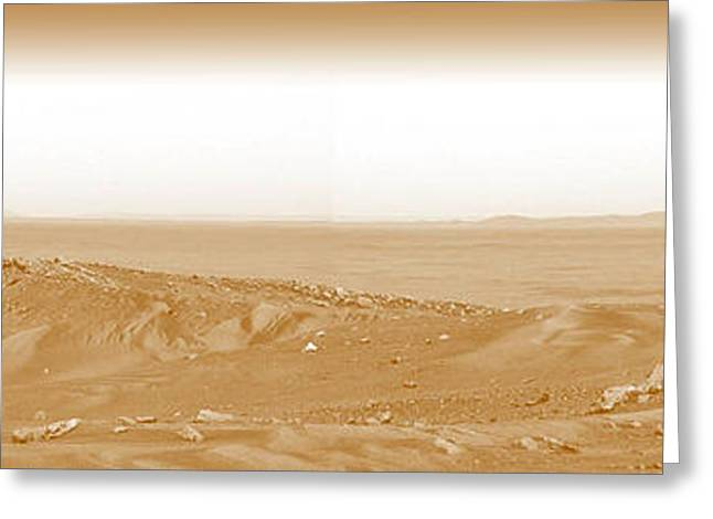 Photographer On Mars Greeting Card