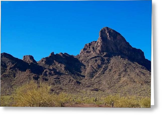 Picacho Peak - Arizona Greeting Card