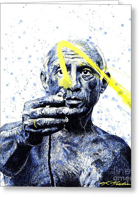 Picasso Greeting Card