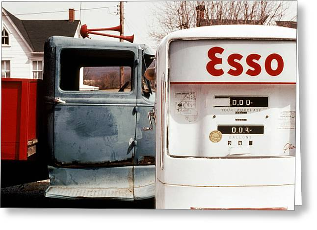 Pickup An Esso Greeting Card by Jan W Faul