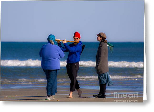 Pied Piper Greeting Card by Al Powell Photography USA
