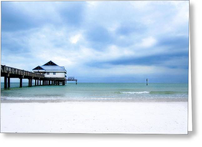 Pier 60 At Clearwater Beach Florida Greeting Card