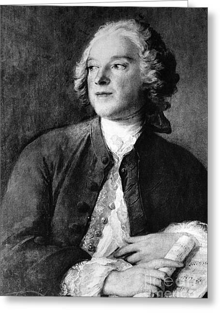 Pierre-augustin Caron De Beaumarchais Greeting Card by Photo Researchers, Inc.