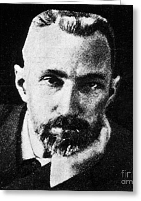 Pierre Curie, French Physicist Greeting Card by Science Source
