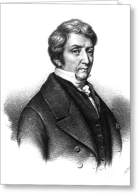 Pierre Louis Dulong, French Physicist Greeting Card