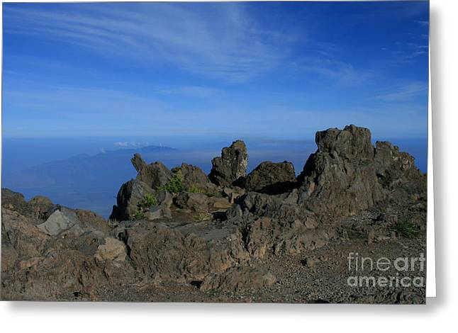 Pihanakalani Haleakala - House Of The Sun - Summit Sunrise Maui Greeting Card