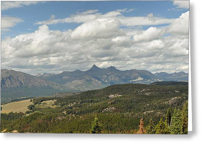 Pilot Peak Panorama Greeting Card