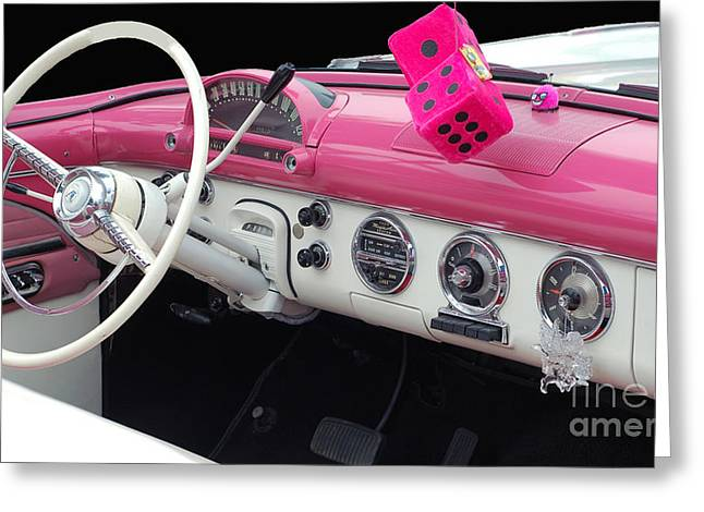 Pink Classic Greeting Card