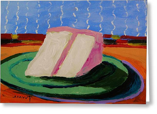 Pink Icing Two Greeting Card by John Williams