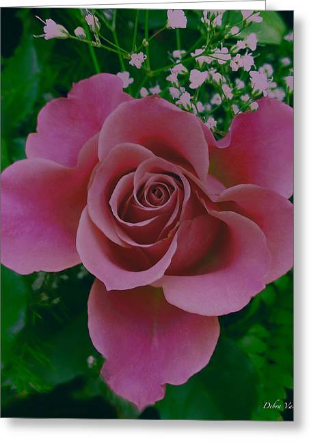 Pink Princess  Greeting Card by Debra     Vatalaro