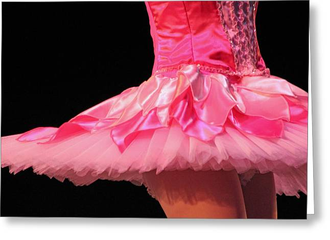 Pink Tutu Two Greeting Card