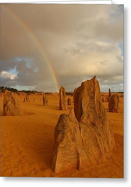 Pinnacle Rainbow Greeting Card