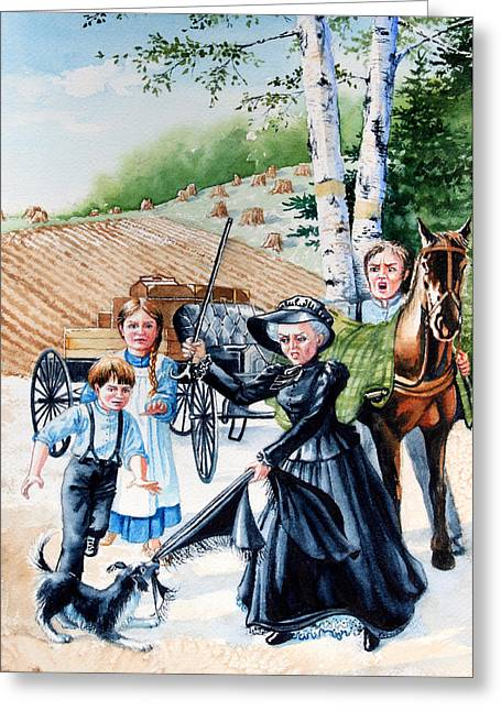 Pioneer Family Greeting Card
