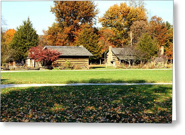 Pioneer Village 1 Greeting Card by Franklin Conour