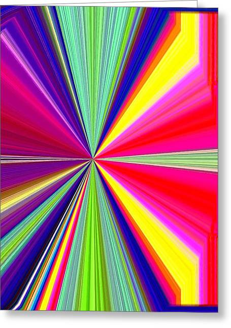 Pizzazz 38 Greeting Card by Will Borden