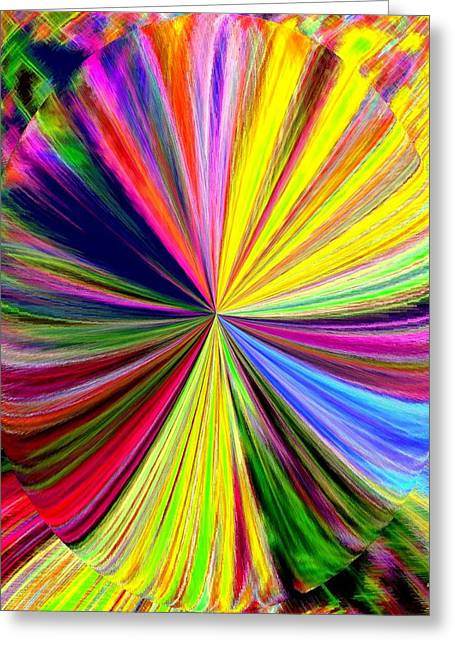Pizzazz 39 Greeting Card by Will Borden