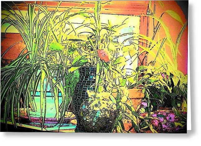 Plants Greeting Card by YoMamaBird Rhonda