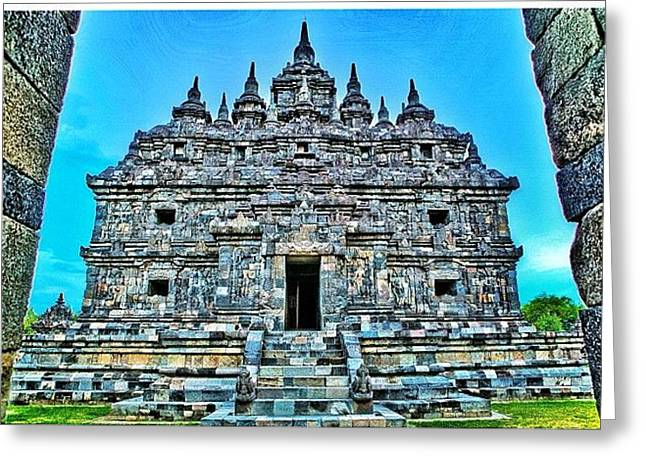 Plaosan Temple Was Built In The Mid 9th Greeting Card