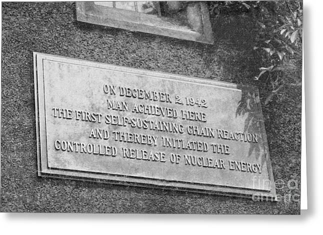Plaque Commemorating First Greeting Card by Science Source