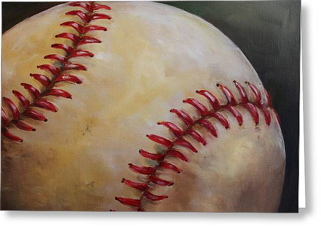 Play Ball No. 2 Greeting Card by Kristine Kainer