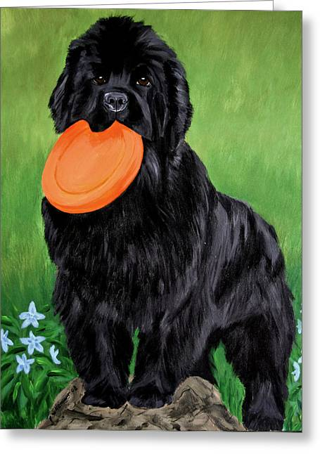 Play With Me Greeting Card by Sharon Nummer