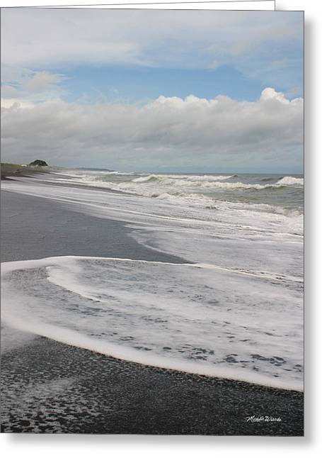 Playa Hermosa Morning Greeting Card by Michelle Wiarda