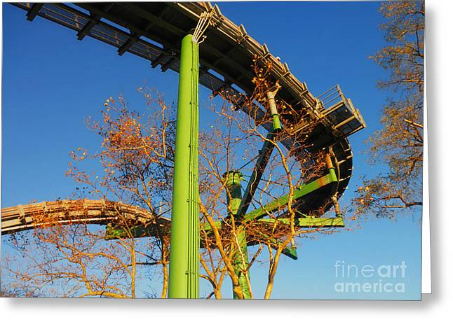 Greeting Card featuring the photograph Playland II by David Klaboe