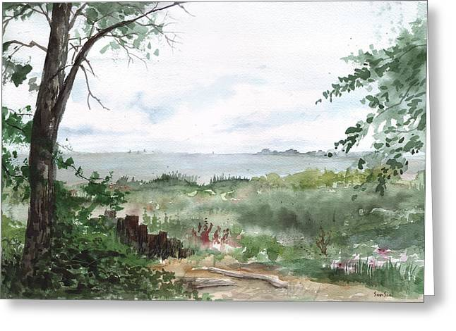 Plein Air 9 Greeting Card