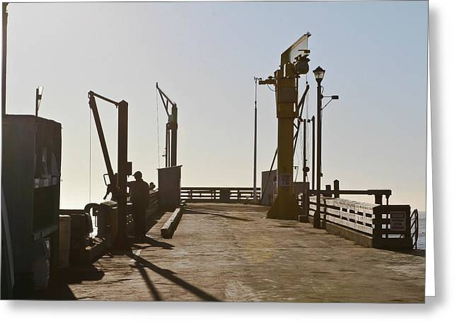Point Arena Cove Pier Greeting Card
