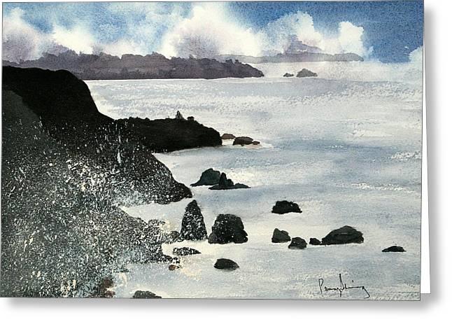 Point Bonita Lighthouse Greeting Card