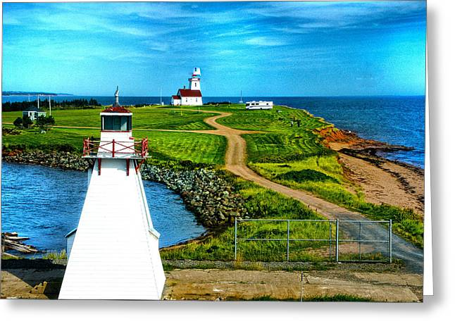 Point Cape One Greeting Card by Rick Bragan