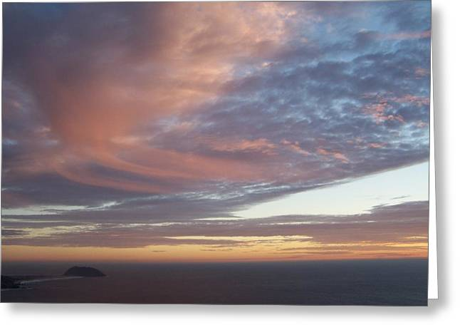 Point Sur Greeting Card