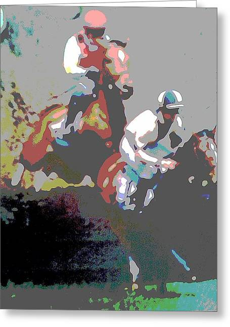 Point To Point Greeting Card