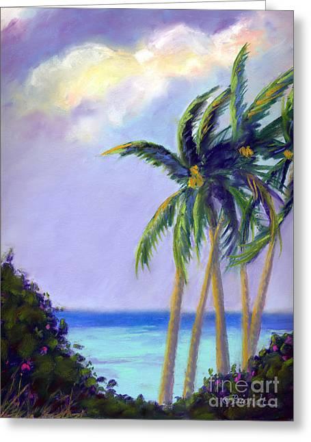Poipu Palms Greeting Card