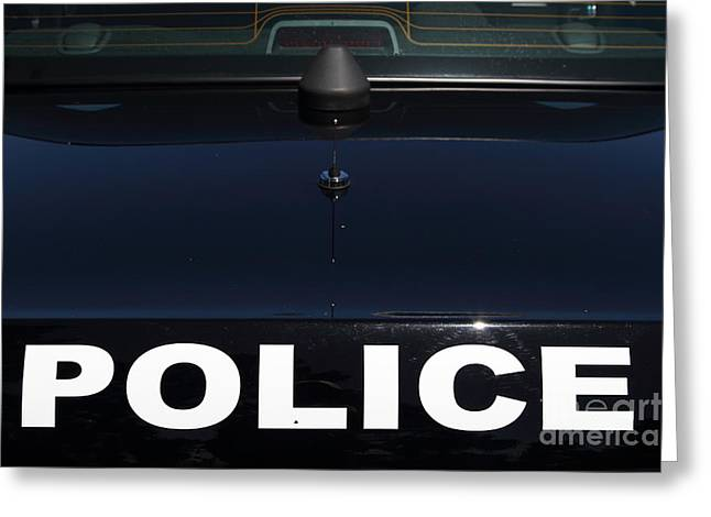 Police . 7d15883 Greeting Card